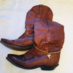 Jewelry - Western Boot Anklet 14 in.